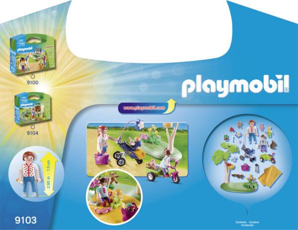 VALIGETTA GRANDE PICNIC ALTRI Femmina 12+ Anni, 3-5 Anni, 5-8 Anni, 8-12 Anni PLAYMOBIL - FAMILY FUN
