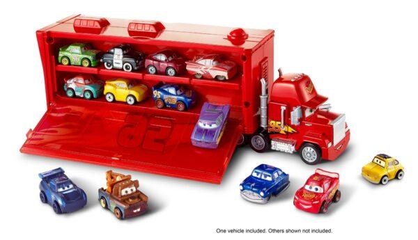 Cars 3 - Mack Trasportatore Mini Racers, con un Mini Racer incluso, può contenere fino a 16 Mini Racers - FLG70 - Disney - Pixar - Toys Center Maschio 12+ Anni, 8-12 Anni CARS DISNEY - PIXAR