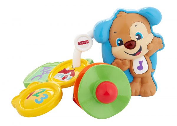 Fisher Price - Chiavi Conta e Vai, dentaruolo giocattolo elettronico ridi impara 6-36 mesi - FPH60 - Fisher Price - Toys Center ALTRI Unisex 0-12 Mesi, 12-36 Mesi FISHER-PRICE