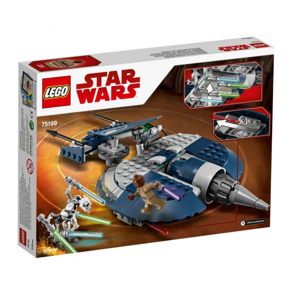 75199 - Speeder d'assalto del Generale Grievous - Disney - Toys Center Star Wars Maschio 12+ Anni, 5-8 Anni, 8-12 Anni Disney