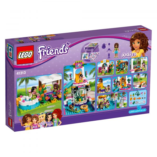 LEGO 41313 - La piscina all'aperto di Heartlake - Lego Friends - Toys Center ALTRI Femmina 5-7 Anni, 8-12 Anni LEGO FRIENDS