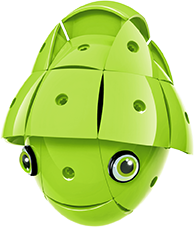 KOR ALTRI KOR Color Green - GEOMAGWORLD - Marche Unisex 3-5 Anni, 5-7 Anni, 5-8 Anni, 8-12 Anni