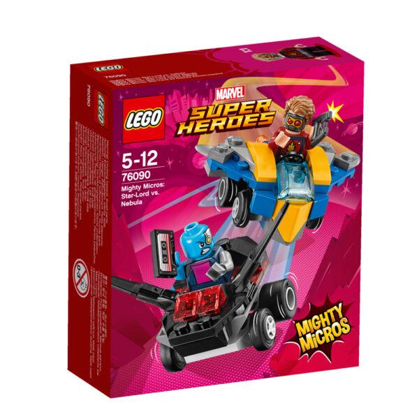 76090 - Mighty Micros: Star-Lord contro Nebula LEGO SUPER HEROES Maschio 12+ Anni, 3-5 Anni, 5-8 Anni, 8-12 Anni ALTRI