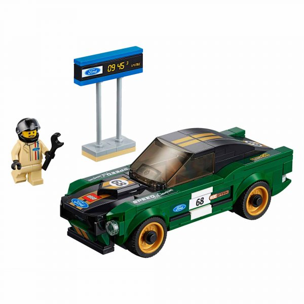 LEGO SPEED CHAMPIONS ALTRI 1968 Ford Mustang Fastback - Lego Speed Champions - Toys Center Maschio 12+ Anni, 5-8 Anni, 8-12 Anni