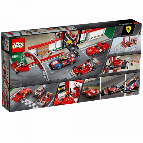 75889 - Garage Ferrari - Lego Speed Champions - Toys Center - LEGO SPEED CHAMPIONS - Costruzioni