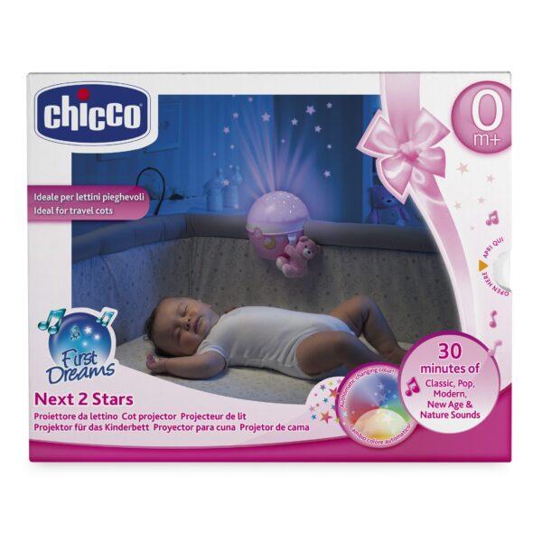 Chicco ALTRI Proiettore Next2 Stars rosa Femmina 0-12 Mesi, 0-2 Anni, 12-36 Mesi, 3-5 Anni, 5-8 Anni