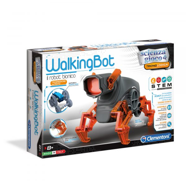 WALKING ROBOT - Focus _ Scienza&gioco - Toys Center FOCUS _ SCIENZA&GIOCO Unisex 12+ Anni, 5-8 Anni, 8-12 Anni ALTRI