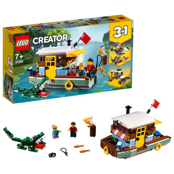 31093 - Casa galleggiante - Lego Creator - Toys Center - LEGO CREATOR - Costruzioni