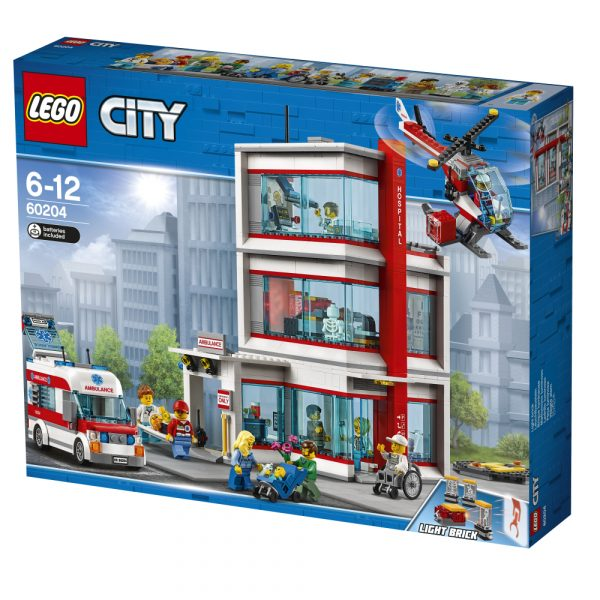 60204 - Ospedale di LEGO® City - LEGO CITY - Costruzioni