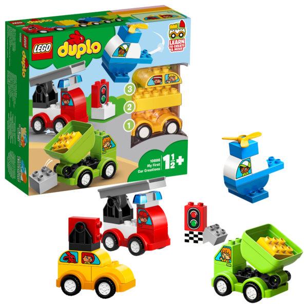 10886 - I miei primi veicoli - Lego Duplo - Toys Center LEGO DUPLO Unisex 0-12 Mesi, 12-36 Mesi, 12+ Anni, 3-5 Anni, 5-8 Anni, 8-12 Anni ALTRI