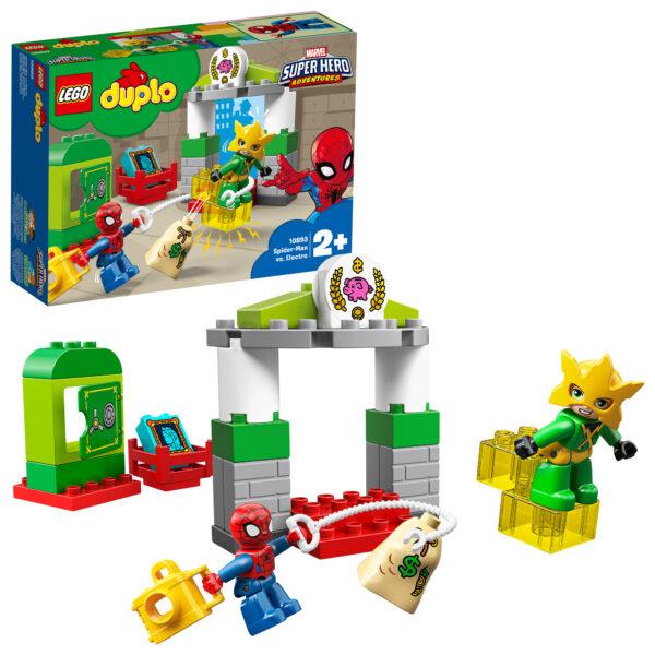 10893 - Spider-Man contro Electro - Lego Duplo - Toys Center - LEGO DUPLO - Costruzioni