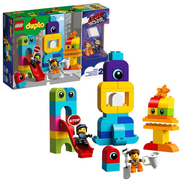10895 - I visitatori dal pianeta DUPLO® di Emmet e Lucy ALTRO Unisex 12-36 Mesi, 12+ Anni, 3-5 Anni, 5-8 Anni, 8-12 Anni THE LEGO MOVIE 2