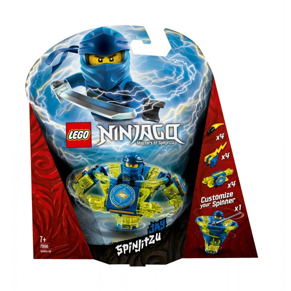 70660 - Jay Spinjitzu - Lego Ninjago - Toys Center LEGO NINJAGO Unisex 12+ Anni, 5-8 Anni, 8-12 Anni ALTRI