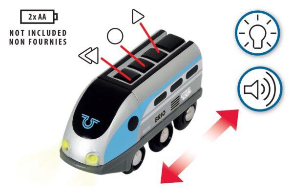 BRIO TRENINI, VAGONI E ALTRI VEICOLI ALTRI BRIO Smart Tech Locomotiva intelligente con tunnel - Brio Trenini, Vagoni E Altri Veicoli - Toys Center Unisex 12-36 Mesi, 3-5 Anni, 5-8 Anni, 8-12 Anni