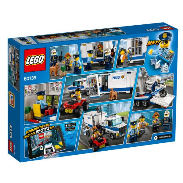 LEGO City 60139 - Centro di comando mobile ALTRI Maschio 5-7 Anni, 8-12 Anni LEGO CITY