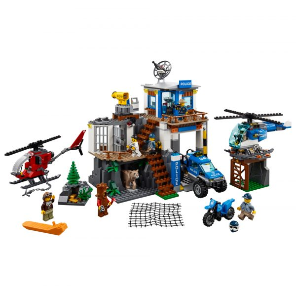 LEGO CITY ALTRI 60174 - Quartier generale della polizia di montagna - Lego City - Toys Center Maschio 12+ Anni, 5-8 Anni, 8-12 Anni