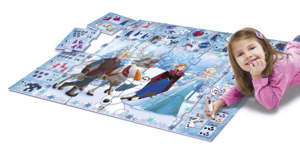 Tappeto Gigante Interattivo Frozen Disney Frozen Unisex 3-4 Anni, 3-5 Anni, 5-8 Anni Disney