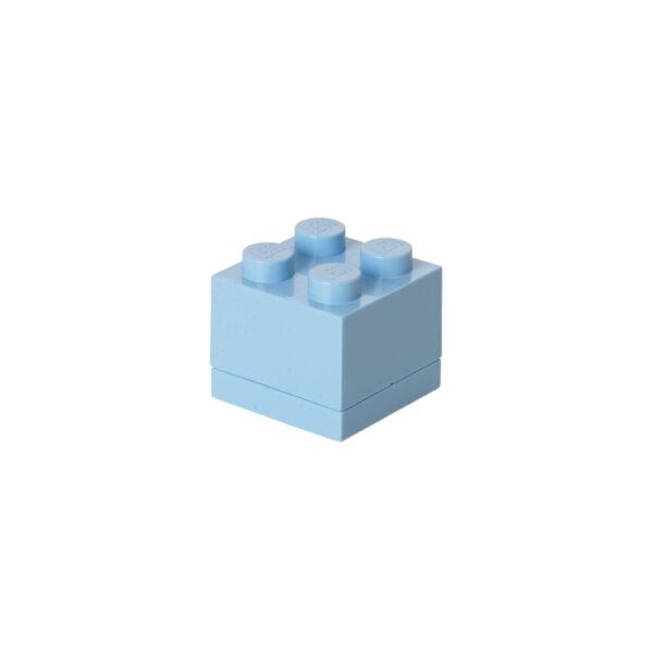 Contenitore LEGO Mini Box 4 Azzurro - Licenza Lego - LEGO - Marche - ALTRO