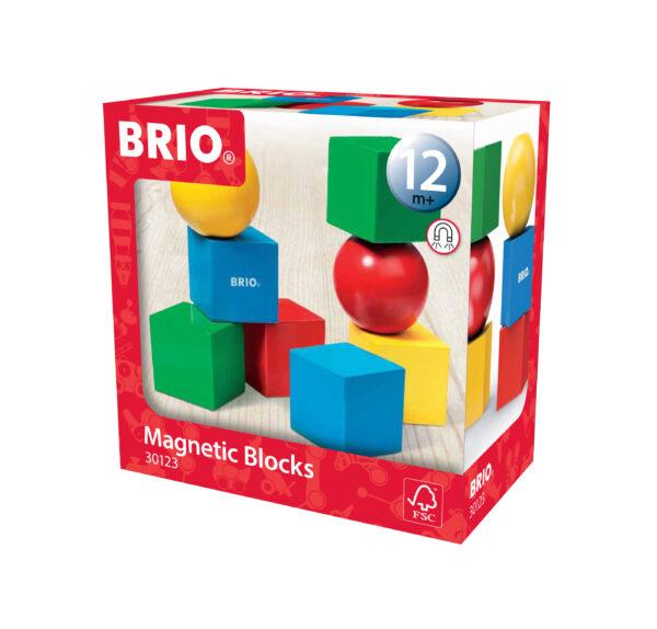 BRIO mattoncini da costruzione magnetici - BRIO Giochi pedagogici - BRIO infant - BRIO - Linee BRIO Unisex 0-12 Mesi, 12-36 Mesi ALTRI