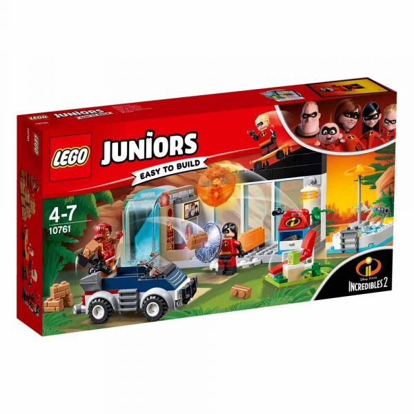 10761 - La grande fuga dalla casa - Lego Juniors - Toys Center LEGO JUNIORS Unisex 3-5 Anni, 5-8 Anni Gli Incredibili 2