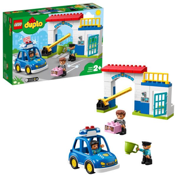 10902 - Stazione di Polizia - Lego Duplo - Toys Center LEGO DUPLO Unisex 12-36 Mesi, 12+ Anni, 3-5 Anni, 5-8 Anni, 8-12 Anni ALTRI