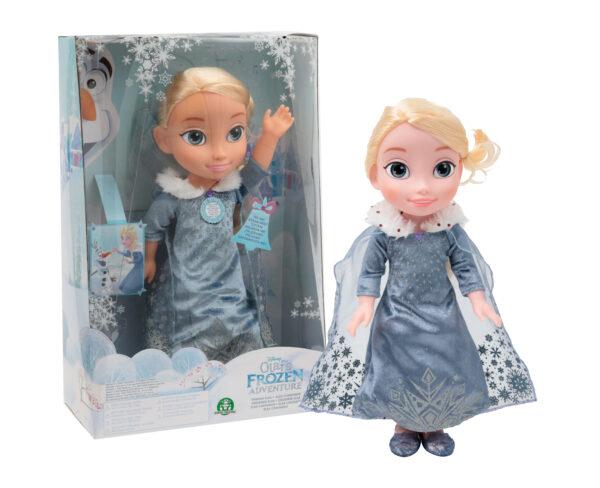 Frozen Elsa bambola cantante Disney Frozen Femmina 12-36 Mesi, 3-5 Anni, 5-8 Anni Disney
