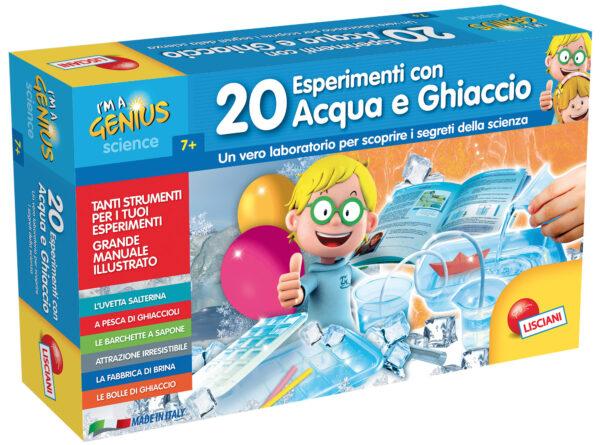 I'm a genius 20 esperim. Acqua e ghiaccio I'M A GENIUS Unisex 5-7 Anni, 5-8 Anni, 8-12 Anni ALTRI