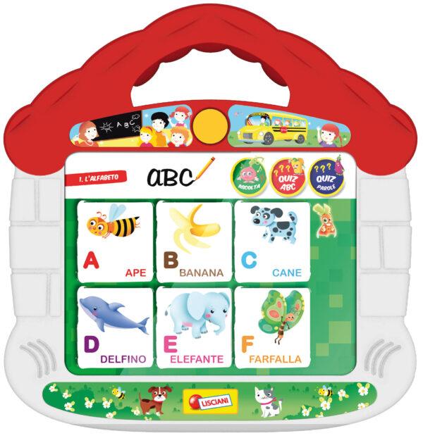 Carotina la scuola dei bambini tocca e impara ALTRI Unisex 12-36 Mesi, 3-4 Anni, 3-5 Anni, 5-7 Anni, 5-8 Anni CAROTINA