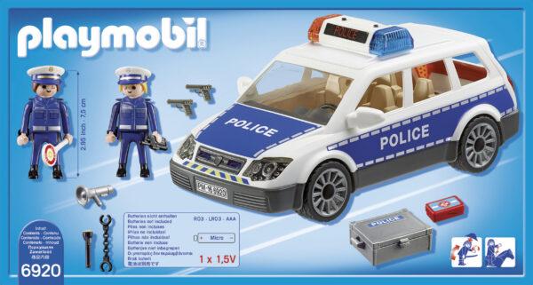 Auto della Polizia ALTRI Maschio 3-4 Anni, 3-5 Anni, 5-7 Anni, 5-8 Anni, 8-12 Anni PLAYMOBIL - CITY ACTION