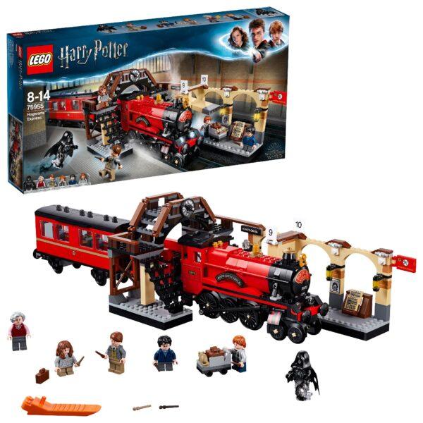 75955 - Harry Potter - Espresso per Hogwarts - Warner Bros. - Toys Center HARRY POTTER Unisex 12+ Anni, 5-8 Anni, 8-12 Anni LEGO® Harry Potter™, WARNER BROS.