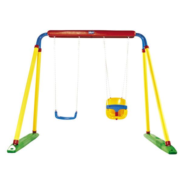 Altalena Double Swing Chicco Unisex 0-12 Mesi, 0-2 Anni, 12-36 Mesi, 3-4 Anni, 3-5 Anni, 5-7 Anni, 5-8 Anni ALTRI