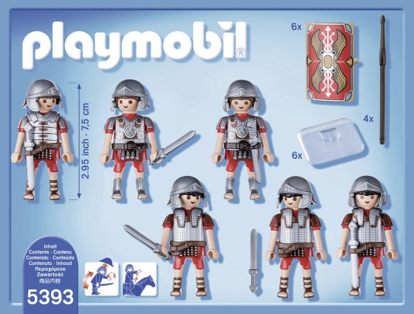 Legione romana ALTRI Maschio 3-4 Anni, 3-5 Anni, 5-7 Anni, 5-8 Anni, 8-12 Anni PLAYMOBIL - HISTORY