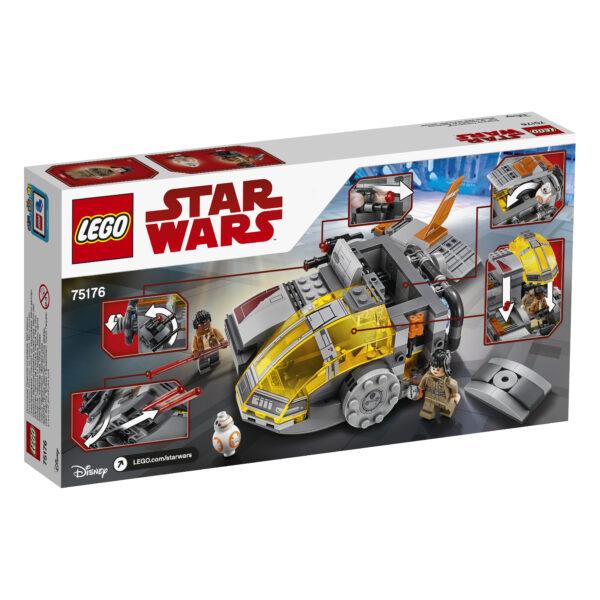 75176 - Resistance Transport Pod™ - Disney - Pixar - Toys Center Star Wars Maschio 12+ Anni, 5-8 Anni, 8-12 Anni DISNEY - PIXAR