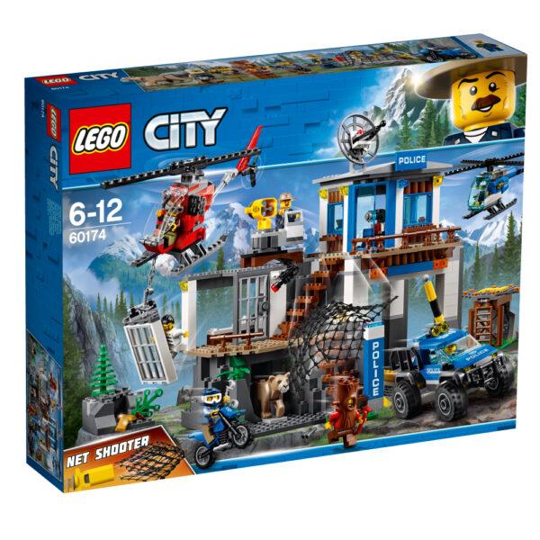 60174 - Quartier generale della polizia di montagna - Lego City - Toys Center LEGO CITY Maschio 12+ Anni, 5-8 Anni, 8-12 Anni ALTRI
