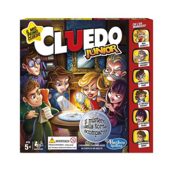 Cluedo Junior HASBRO GAMES Unisex 12+ Anni, 3-5 Anni, 5-8 Anni, 8-12 Anni ALTRI