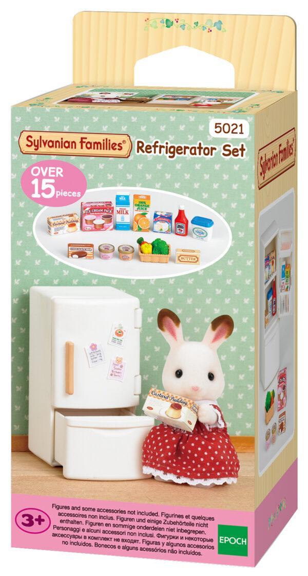 Sylvanian Families – Set frigorifero SYLVANIAN FAMILIES Femmina 12-36 Mesi, 3-4 Anni, 3-5 Anni, 5-7 Anni, 8-12 Anni ALTRI