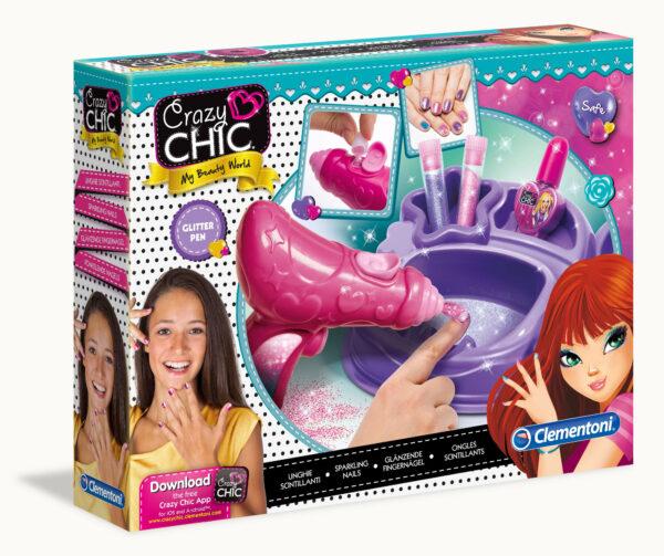 Crazy Chic Unghie Scintillanti CRAZY CHIC Femmina 12+ Anni, 5-7 Anni, 8-12 Anni ALTRI