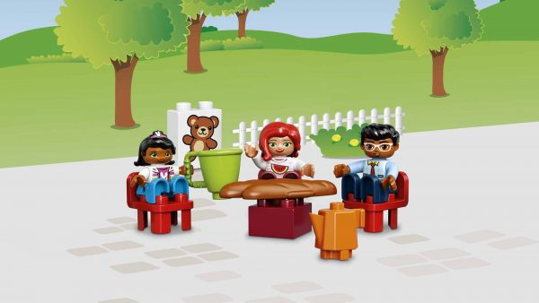 ALTRI LEGO DUPLO Unisex 3-4 Anni, 5-7 Anni 10835 - Villetta familiare