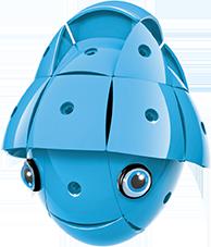 KOR ALTRI KOR Color Blue - GEOMAGWORLD - Marche Unisex 3-5 Anni, 5-7 Anni, 5-8 Anni, 8-12 Anni