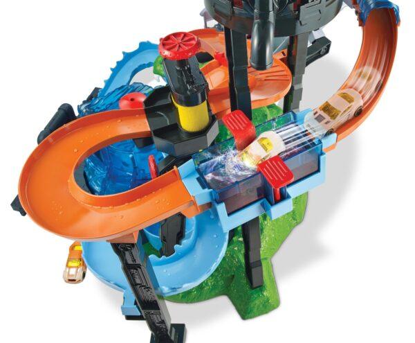 ALTRI Hot Wheels Maschio 8-12 Anni Hot Wheels - Mega Autolavaggio, Playset Per Macchinine Con Pista e Veicolo Cambiacolore, Giocattolo Per Bambini 5 + Anni