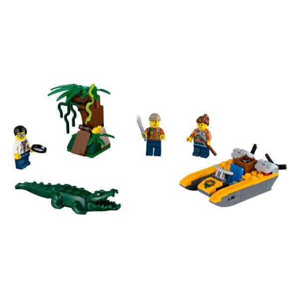 LEGO CITY ALTRI LEGO 60157 - Starter set della Giungla Maschio 12+ Anni, 3-5 Anni, 5-8 Anni, 8-12 Anni
