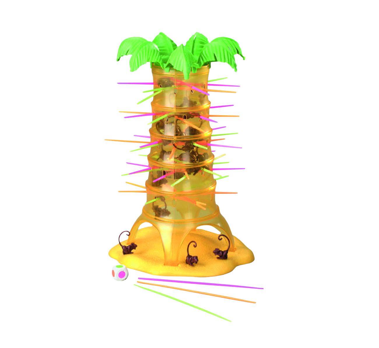 Salva Le Scimmie Gioco da Tavolo 2017568-Mattel 52563