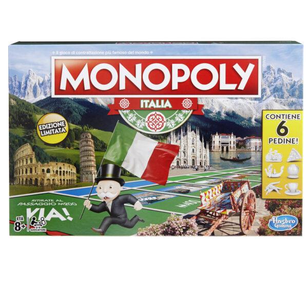 Monopoly Italia - Hasbro Games - Toys Center HASBRO GAMES Unisex 12+ Anni, 5-8 Anni, 8-12 Anni ALTRI