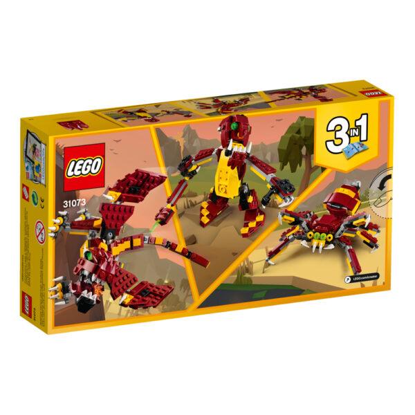 31073 - Creature mitiche - Lego Creator ALTRI Maschio 12+ Anni, 5-8 Anni, 8-12 Anni LEGO CREATOR
