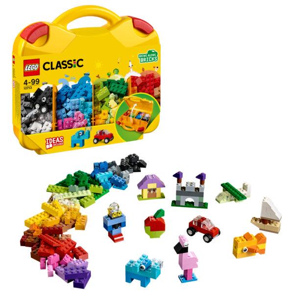 LEGO CLASSIC ALTRI 10713 - Valigetta creativa - Lego Classic - Toys Center Unisex 12+ Anni, 3-5 Anni, 5-8 Anni, 8-12 Anni