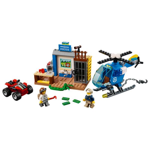 LEGO JUNIORS ALTRI 10751 - Inseguimento della polizia di montagna - Lego Juniors - Toys Center Maschio 3-5 Anni, 5-8 Anni, 8-12 Anni