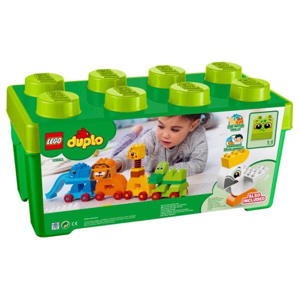 10863 - Il Treno degli Animali - Lego Duplo - Toys Center ALTRI Maschio 12-36 Mesi, 3-5 Anni LEGO DUPLO