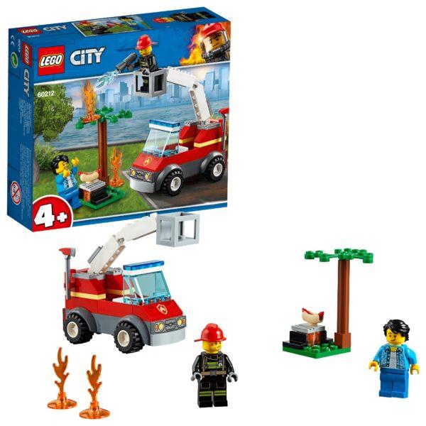 LEGO 60212 - Barbecue in fumo LEGO CITY Unisex 12+ Anni, 3-5 Anni, 5-8 Anni, 8-12 Anni ALTRI