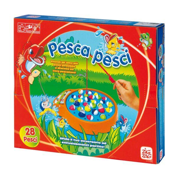 PESCA PESCI - Zig Zag - Toys Center ZIG ZAG Unisex 3-4 Anni, 3-5 Anni, 5-7 Anni, 5-8 Anni, 8-12 Anni ALTRI