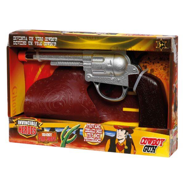 INVINCIBLE HEROES Pistola con fodero INVINCIBLE HEROES Maschio 3-5 Anni, 5-7 Anni, 5-8 Anni, 8-12 Anni ALTRI